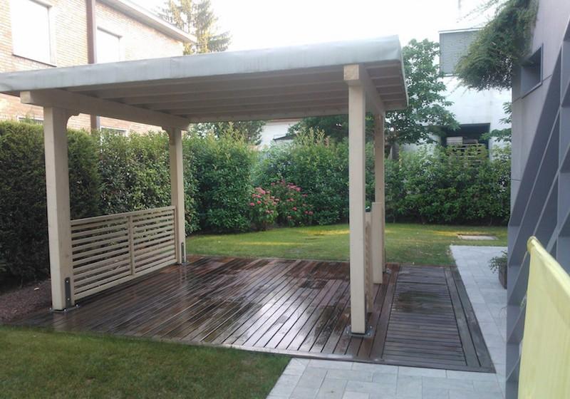 Gazebo vz strutturevz strutture strutture in legno for Gazebo in legno usato